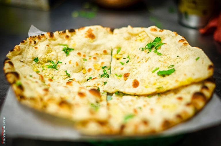 Garlic Naan Bread